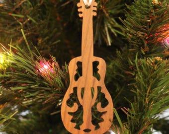 Ornament - Guitar - Walnut
