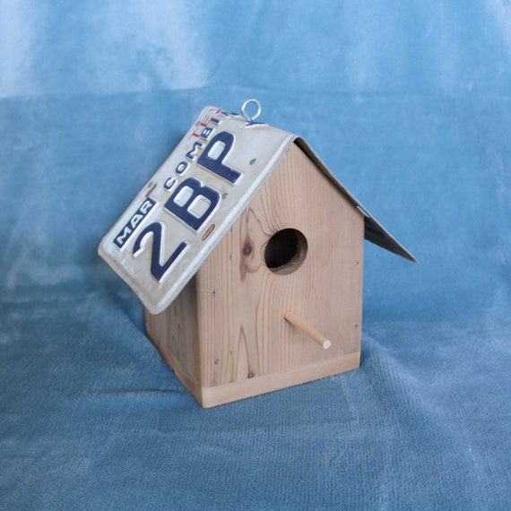Texas The Lone Star State License Plate Birdhouse