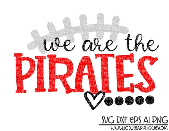 socuteappliques pirates football svg Pirates football mom Pirates svg football sister svg football mom shirt design