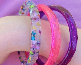 Mickey Inspired Sequin Bangle