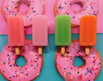 Popsicle Brooches - Summer Fun!