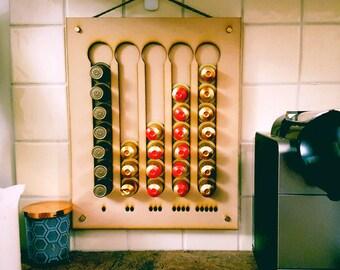 Coffee pod holder / rack
