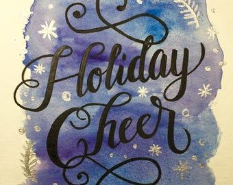 Holiday Cheer Miniprint Card