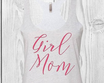 Girl Mom Tank Top
