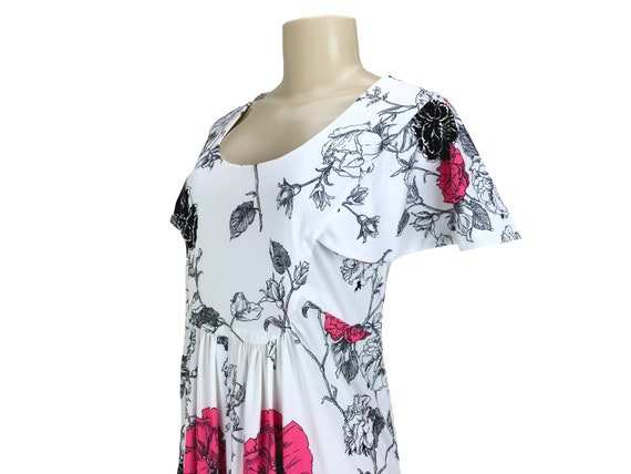 Vintage 1970s Maxi Dress Caftan Hostesss Gown Siz… - image 4