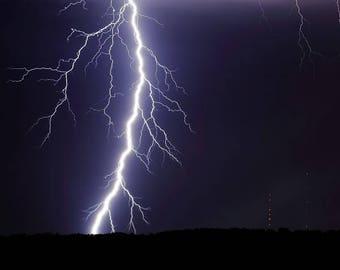 lightning bolt printable wall art storm photography stock photo lightning wall art photography lightning strike instant download