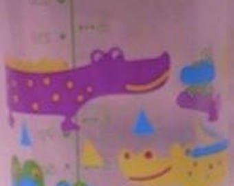 The Hedgehog Sipper (Alligator print)