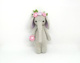 Baby Elephant Toy Etsy
