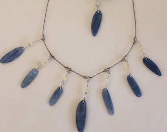 Kyanite Necklace #30