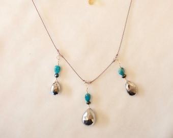Pyrite Necklace #67