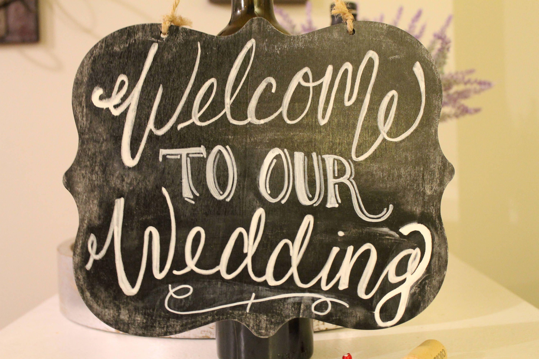 Willkommen zu unserer Hochzeit-Tafel-Zeichen | Etsy
