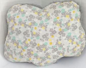 Floral cloud cushion