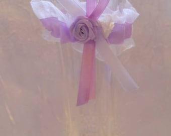 Mini garter Deco custom wedding