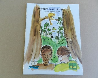 Children's book, African book, adventures in bijagos, book Guinea, friendship tolerance, reading of Africa, children's book, from 2 years