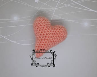 Little crochet heart