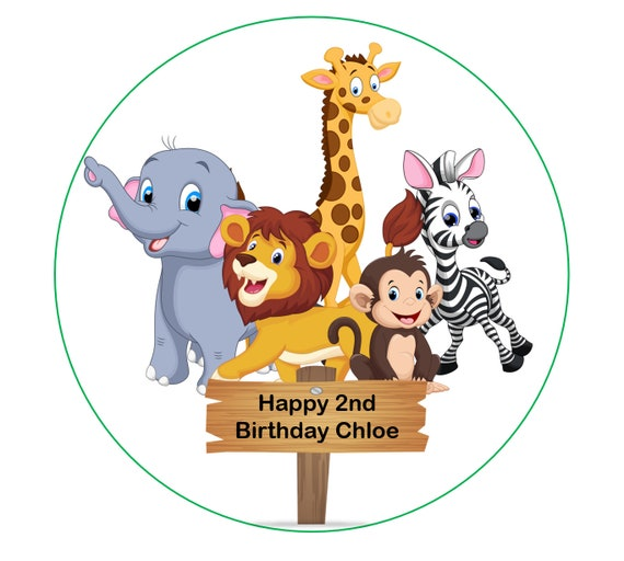 """Premium Quality Greeting Card with Unique Animal Design 5.5/"""" x 7.5/"""" Elephant Balloon Birthday Northern Cards"""
