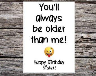 Sibling Card Etsy