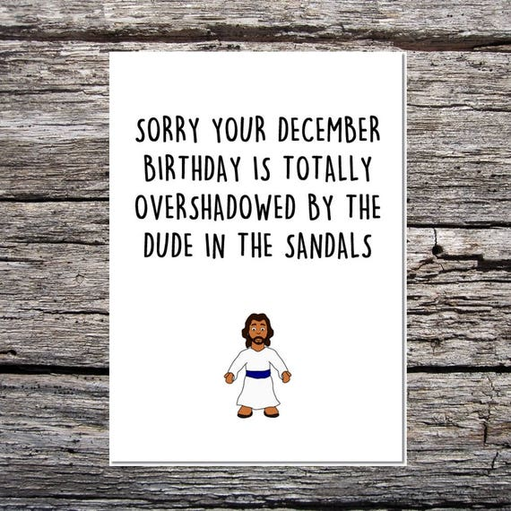 December Birthday Christmas Card For Your December Birthday