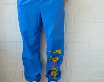 d4435ebd170da Vintage 90s Track Pants | Multi Color Sport Pants | Track Pants | Vintage  Tracksuit | Vintage Track Pants