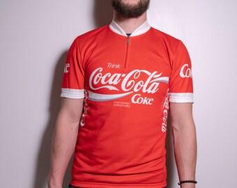 Vintage SANTINI Cycling Jersey  6e7af1fe1