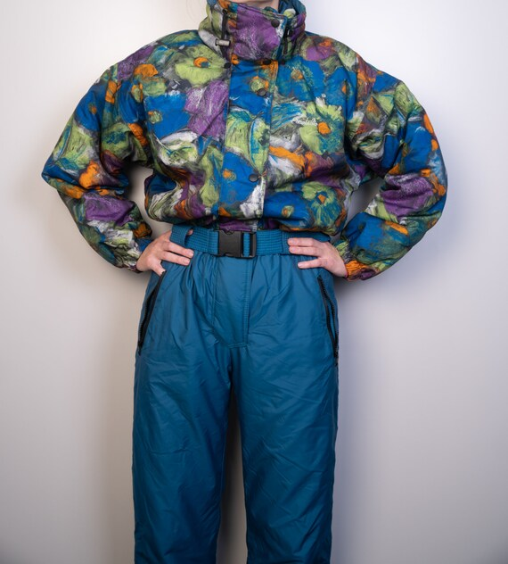 Vintage ASTROLABIO Ski Suit | Multi color Ski Suit