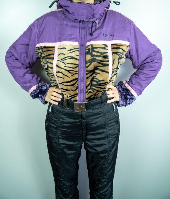 Vintage SPORTALM Ski Suit Tiger Ski Suit Snowboard
