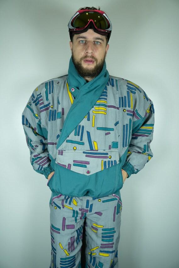 Vintage BODY Club Ski Jacket and Ski Pants | Multi