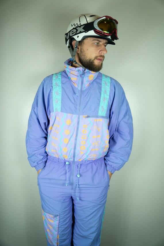 Vintage VOODOO Ski Suit Multi color Ski Suit Snowb