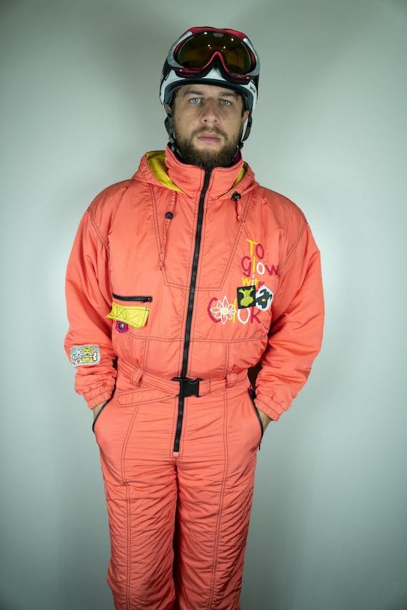 Vintage Twins Ski Suit Multi color Ski Suit Snowbo
