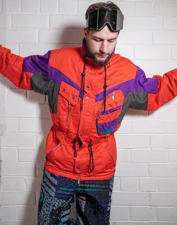 Vintage NEVICA Ski Wear | Multi color Ski Jacket |