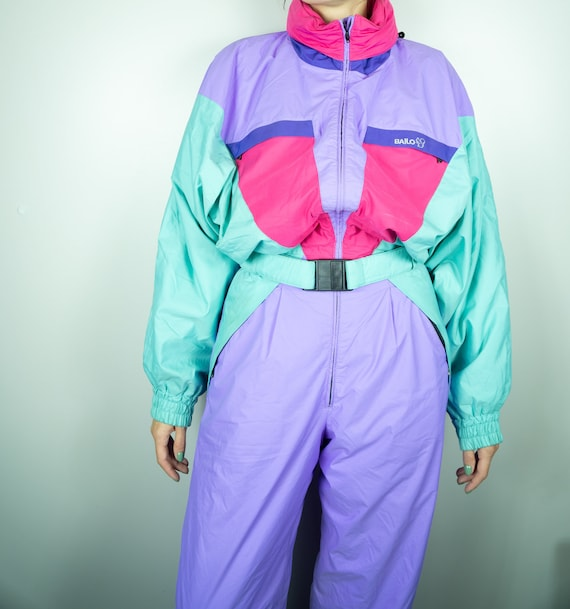 Vintage BAILO Ski Suit | Multi color Ski Suit | Vi