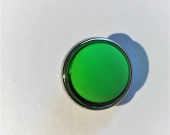 Snap 1.2 cm neon green