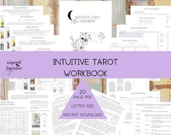 Intuitive Tarot Workbook | Tarot Journal Insert | Tarot Cheat Sheets | Major Arcana Guide | Minor Arcana Guide | Tarot Meditations