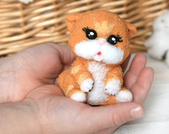 CAT soap gift for kids red fox cute favors for girl