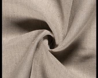 Linen Rustic - Fabric NATURAL - 100% linen *** 50 cm x 145 cm ***
