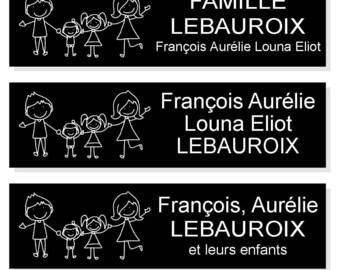 Plate mailbox pictogram family background letter/black white