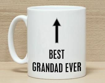 Grandad/'s /& de grand-mère Caravane Tasse Ensemble de 2 Empilable Céramique mugs en boîte cadeau