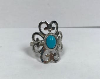 Moon Cloud Sarah Coventry Ring Vintage