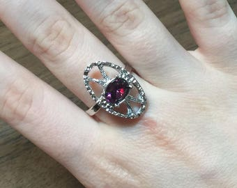 """Sarah Coventry 'Mystique"""" Ring from 1974"""
