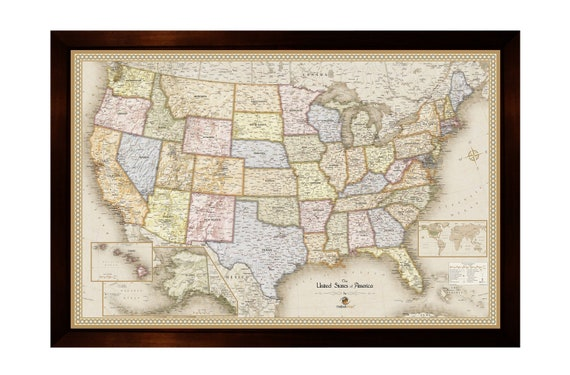 Personalized Framed Tan Magnetic Pin United States Map | Magnetic United on cartoon united states, digital map of united states, central plains map united states, framed antique maps, mounted maps of united states, geographic maps rivers united states, paintings of united states, framed usa map, printable map of united states, inset map of the united states, framed historical texas maps, world of united states, framed us map with pins, drawings of united states, framed vintage maps, usa wall maps united states, rand mcnally map of the united states, large map of united states, map of the mountain ranges in united states, framed maps wall,
