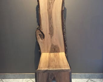 Walnut chair #2 , wood chair , wood , chair , deco