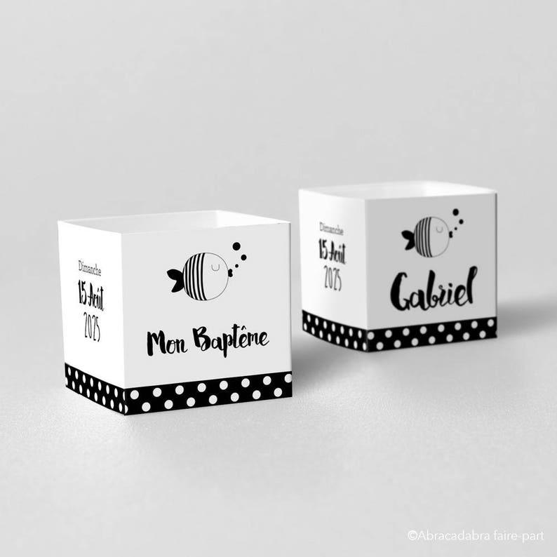 Model Gabriel Little Fish Dredged Boxes