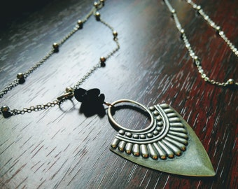 Necklace & onyx