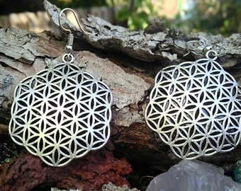 sacred geometry earrings