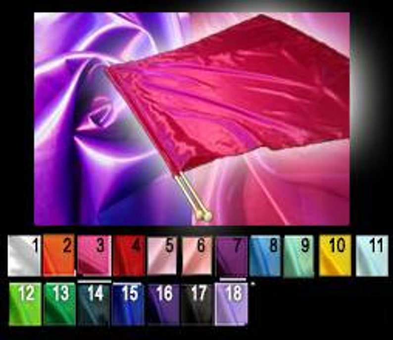 Worship Flags, Satin Warfare Sound, Silk Flags, Dance Flags, Praise Flags,  Prayer Flags