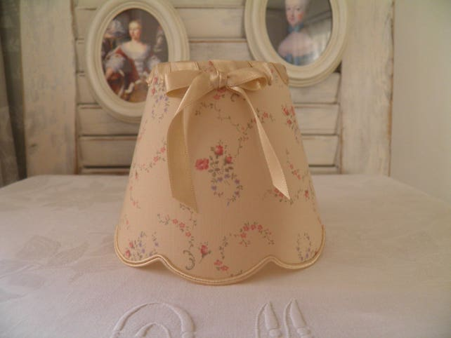 Lampshade chandelier for a decoration smart campaign or etsy