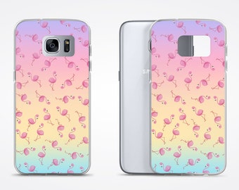 Kawaii Phone Case / Pink Flamingo Pastel Phone Case / Kawaii Samsung Case /  Samsung Galaxy