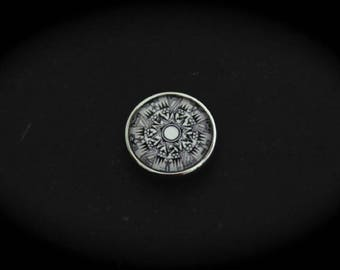 Cabochon 18mm for jewelry - Native American fancy pressure: NB patterns