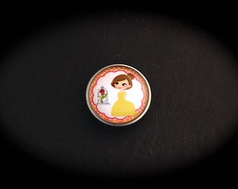 Pressure 18mm for jewelry fantasy cabochon - Princess B