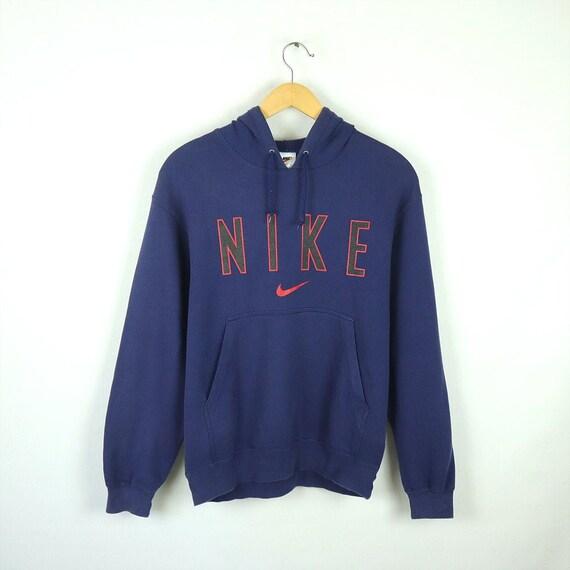 Rare Vintage 80s 90s NIKE Hoodie Sweatshirt Sweate